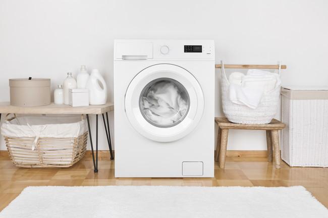 ドメスティックルームにある洗濯機や洗剤