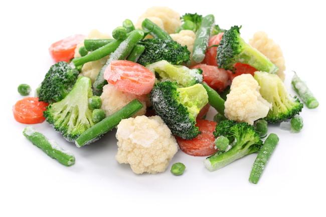 冷凍したカット野菜