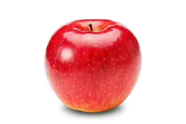 ツヤのある真っ赤なりんご