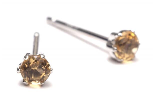 A.UN jewelry セカンドピアス プラチナ 3mm 軸太 12mm ダブルシリコンキャッチ