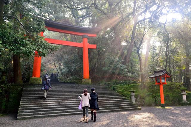 神社の鳥井