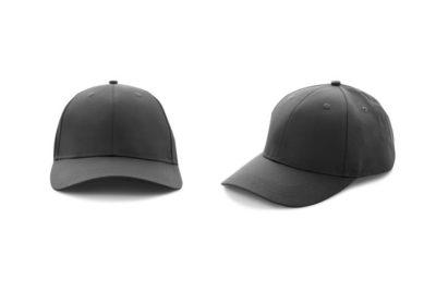 2つの黒い帽子