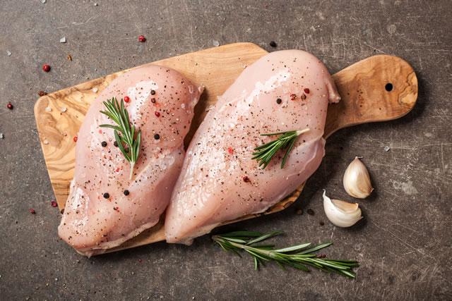 鶏肉とハーブ