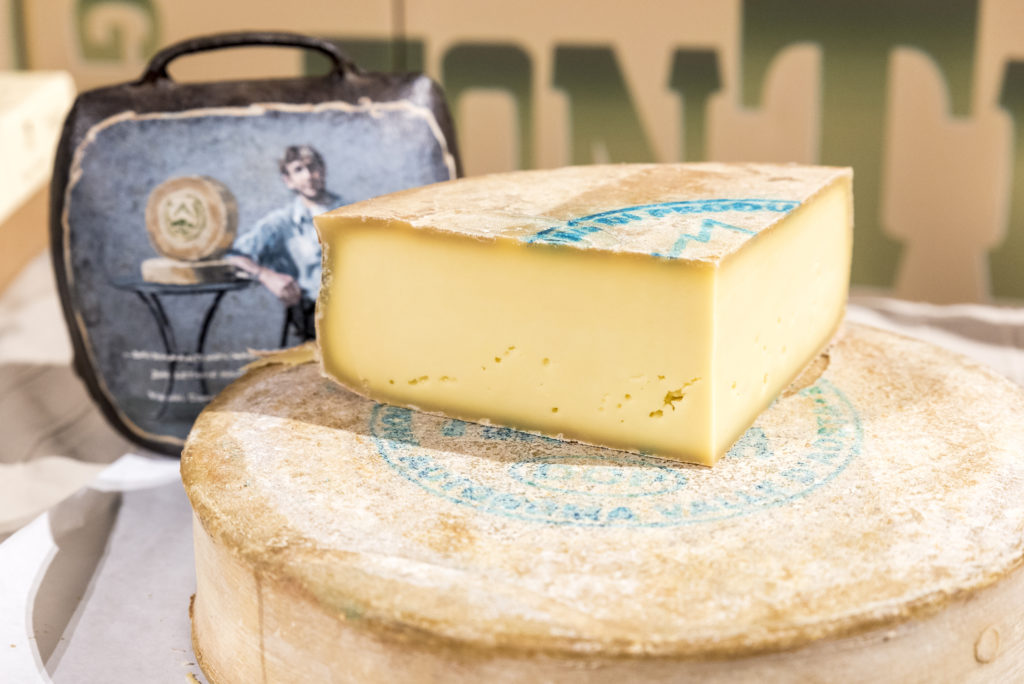 きれいな断面チーズ