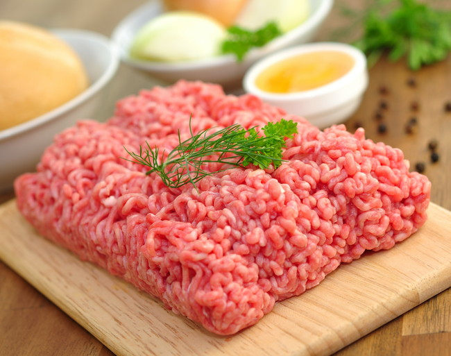 美しいひき肉