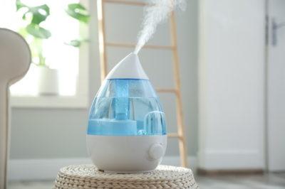 蒸気を出す加湿器