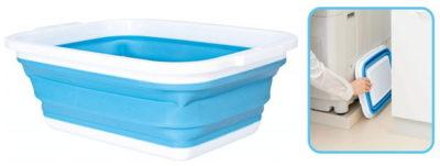 コジット 薄く畳める洗い桶 8.5リットル