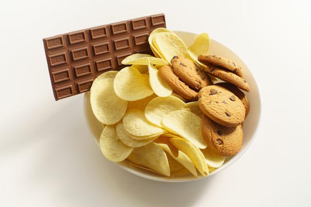 ポテチとチョコとクッキー