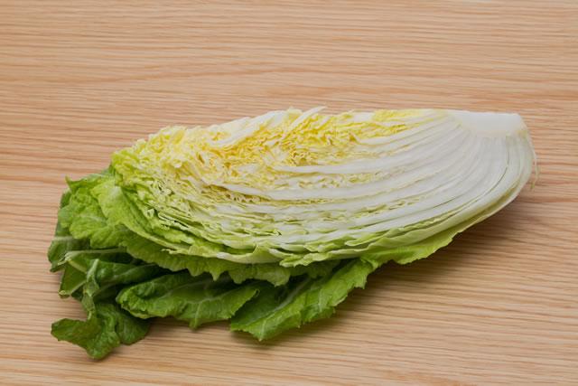 四分の一の白菜