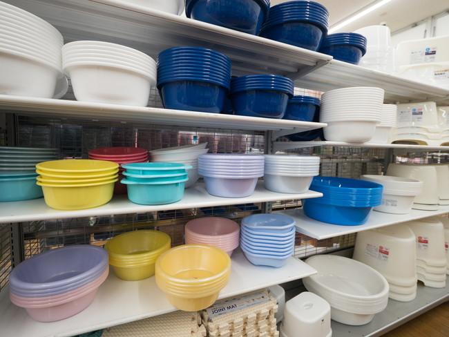 洗面器売り場