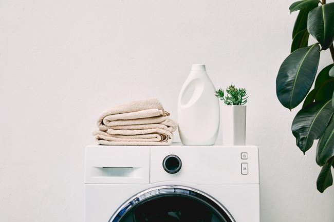 洗濯機と柔軟剤