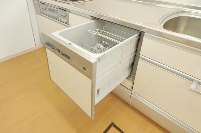 ビルドインタイプの食洗器