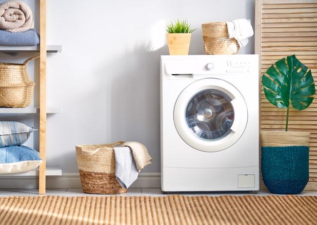ランドリースペースの洗濯機