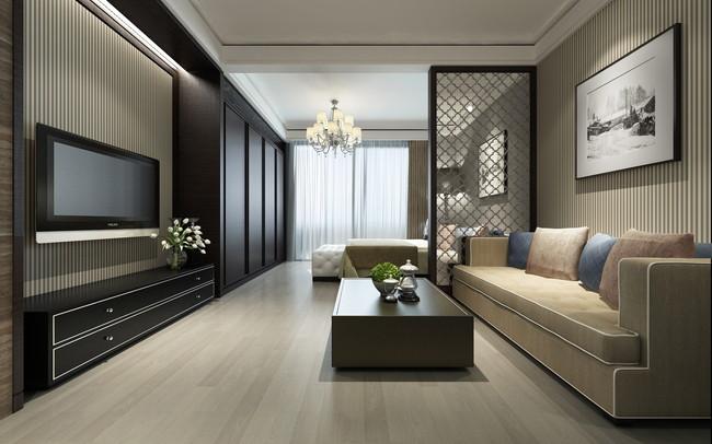 モダンな雰囲気の室内インテリア