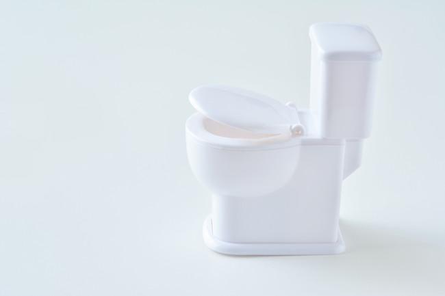 タンクの付いた洋式トイレ