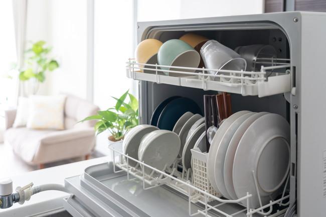食器洗い乾燥機と食器
