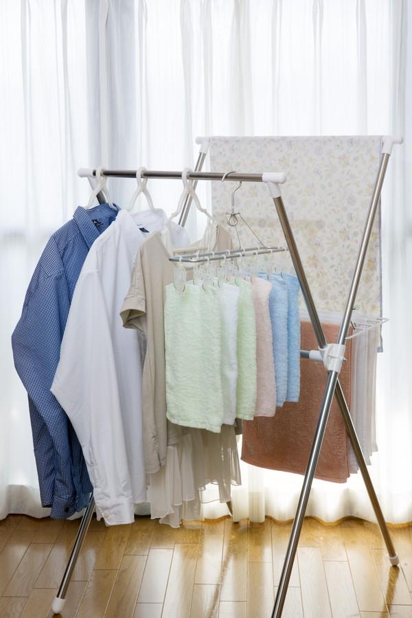 洗濯物の部屋干し