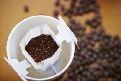 ドロップコーヒーとコーヒー豆