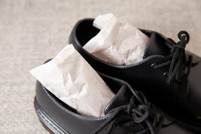 靴と消臭剤