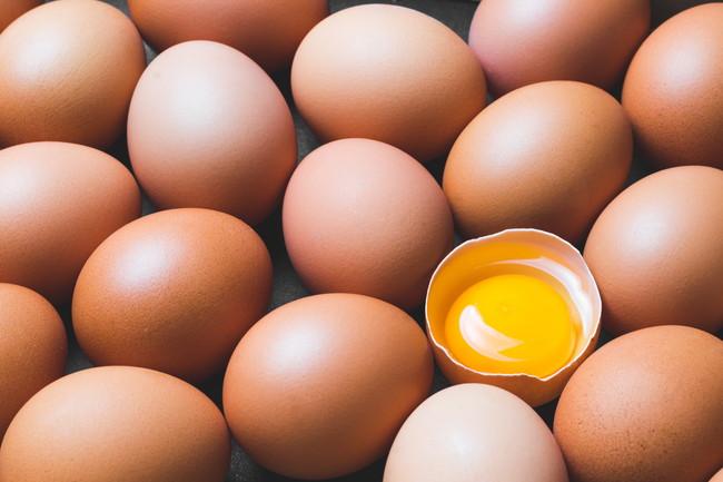 複数の生卵