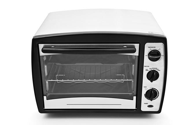 白いオーブントースター
