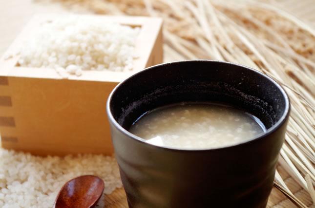 麹水と米麹