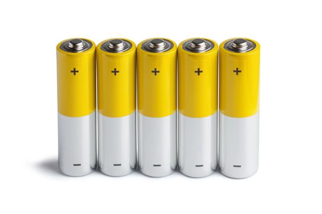5本の乾電池