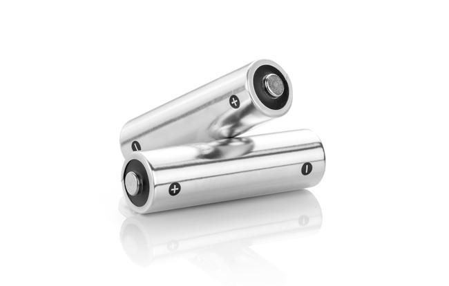 シルバーの乾電池