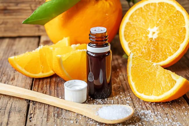 オレンジとクエン酸
