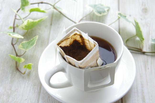 ドリップパックコーヒーでコーヒータイム