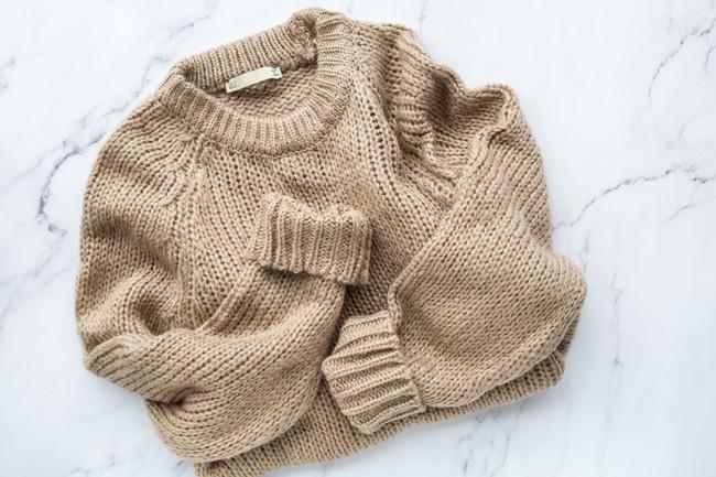 よれよれになったセーター