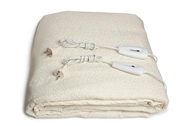 畳まれた電気毛布