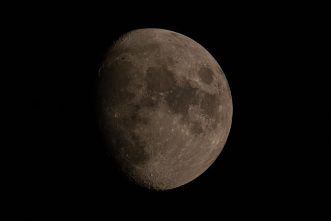 美しい十三夜の月