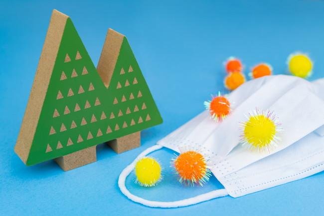 花粉症とインフルエンザと風邪のイメージ