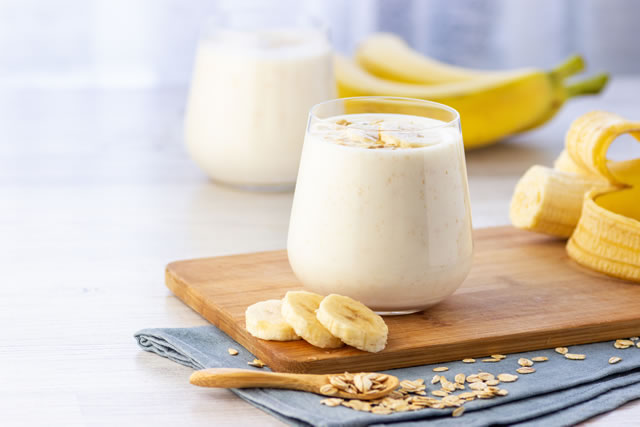 バナナとバナナジュース