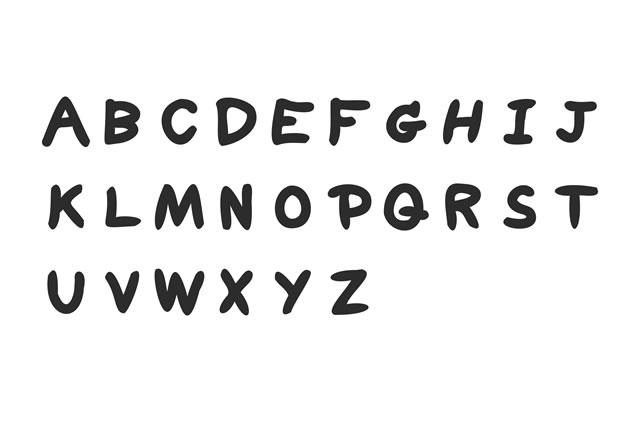 アルファベッド