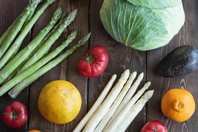 アスパラガスの栄養イメージ