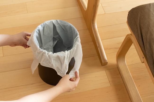 レジ袋の再利用