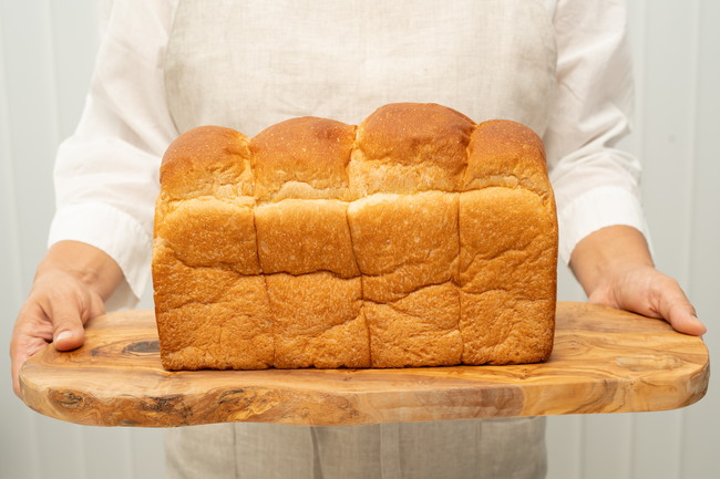 2斤の自家製焼きたて食パン