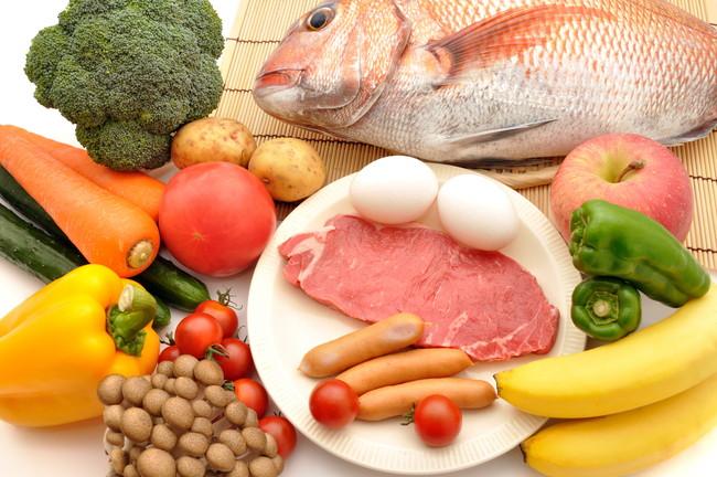 生鮮食品や野菜などの食材ストックのイメージ