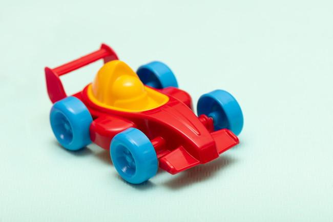 プラスチック製の子供のおもちゃ