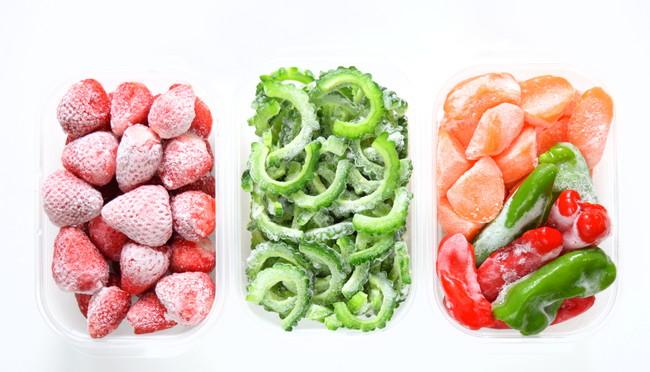 冷凍野菜と果物