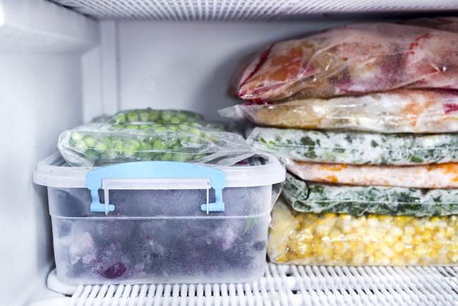 冷凍保存している食材