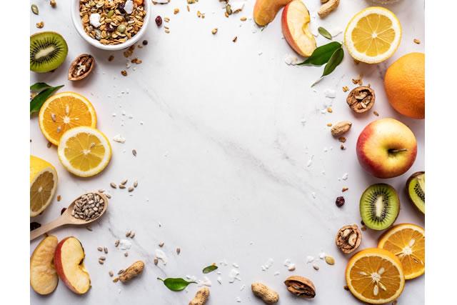 グラノーラの栄養イメージ