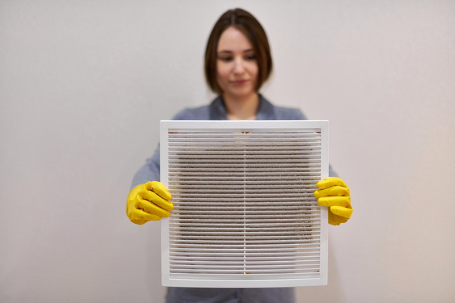 空気清浄機の掃除
