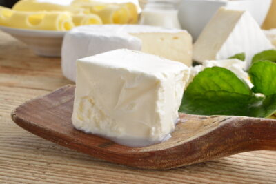 白いチーズ