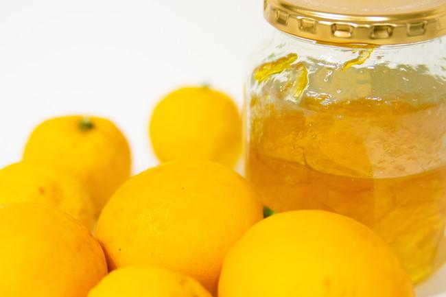 柚子とレモンとはちみつ漬け