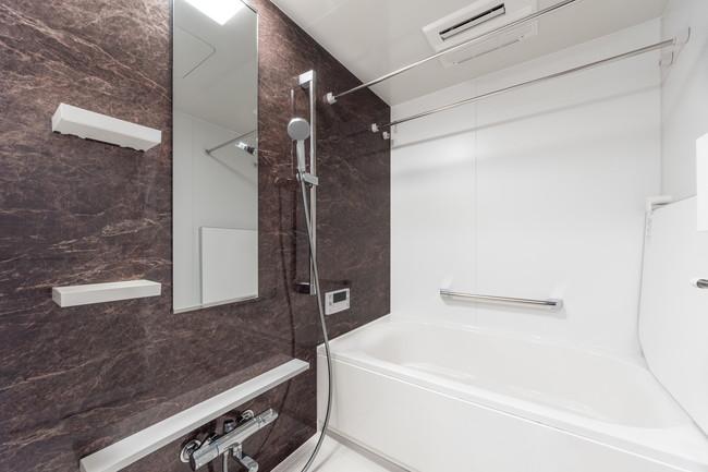 新築住宅のキレイな浴室