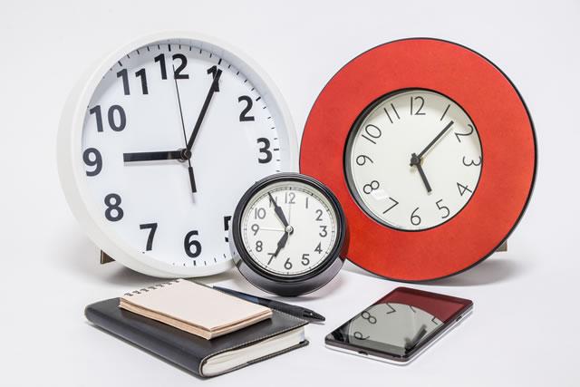 時間の有効活用イメージ