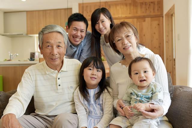 目上の人の家族